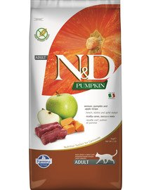 N&D Pumpkin Cat vension & apple 5 kg