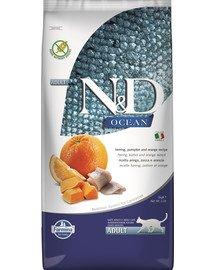N&D Ocean Cat adult herring, pumpkin & orange 5 kg