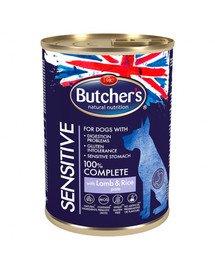 Blue Sensitive z jagnięciną i ryżem pasztet 390 g