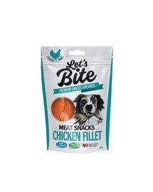 Let's Bite meat snacks chicken fillet 80 g
