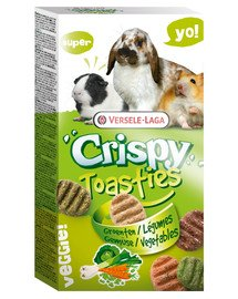 Prestige 150 g crispy toasties vegetable