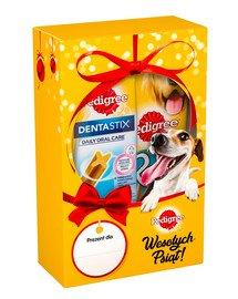 Zestaw Świąteczny dla psa Rodeo + DentaStix Medium Średnie rasy