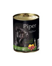 PIPER z dziczyzną i z dynią 800 g mokra karma dla dorosłych psów