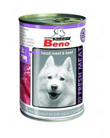 Super BENO pies głowizna z wołowiną Meat 400 g