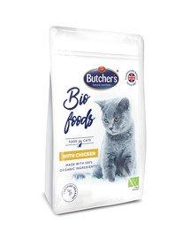 BIO foods kurczak sucha karma dla dorosłych kotów 800 g