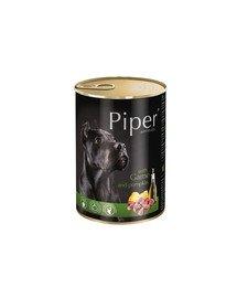 PIPER z dziczyzną i z dynią 400 g mokra karma dla dorosłych psów