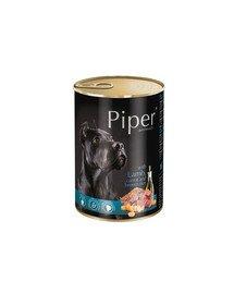 PIPER z jagnięciną, marchewką i brązowym ryżem 400 g mokra karma dla dorosłych psów
