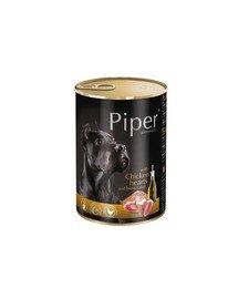 PIPER z sercami kurczaka i ryżem 400 g mokra karma dla dorosłych psów