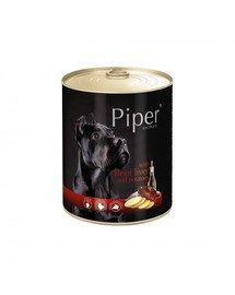 PIPER z wątrobą wołową i ziemniakami 800 g mokra karma dla dorosłych psów