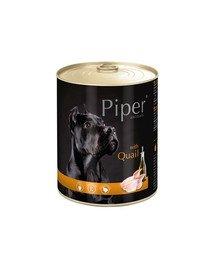 PIPER z przepiórką 800 g mokra karma dla dorosłych psów