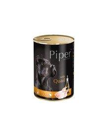 PIPER z przepiórką 400 g mokra karma dla dorosłych psów