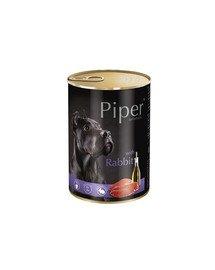 PIPER z królikiem 400 g mokra karma dla dorosłych psów