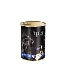 PIPER z dorszem 400 g mokra karma dla dorosłych psów