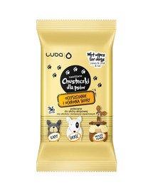 Chusteczki dla psów oczyszczanie i ochrona skóry