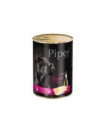 PIPER z żołądkami wołowymi 400 g mokra karma dla dorosłych psów