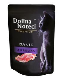 Premium Danie z królika dla kotów dorosłych 85 g
