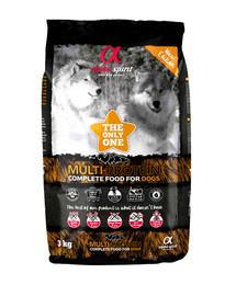 Pełnoporcjowa sucha karma dla psów Multiproteina 3 kg