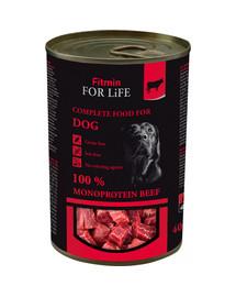 For Life Dog Beef 400 g bezzbożowa karma dla psów wołowina