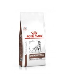 ROYAL CANIN Veterinary Diet Dog Gastro Intestinal Mod.Calorie 15 kg