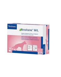 Anxitane M/L 30 tabletek Suplement diety na stres dla psów i kotów powyżej 10 kg