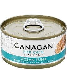 Cat Ocean Tuna 75 g mokra karma dla kotów tuńczyk oceaniczny