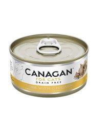 Cat Tuna with Chicken 75 g mokra karma dla kotów tuńczyk z kurczakiem