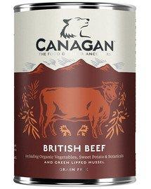 Dog British beef mokra karma dla psa brytyjska wołowina 400 g
