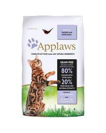 Dry cat Adult kurczak i kaczka karma dla dorosłych kotów 7,5 kg