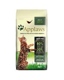 Dry cat Adult kurczak i jagnięcina karma dla dorosłych kotów 2 kg