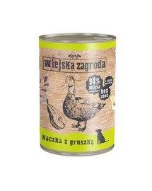 Kaczka z gruszką 400 g bezzbożowa karma dla psa
