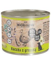 Kaczka z gruszką 200 g bezzbożowa karma dla psa