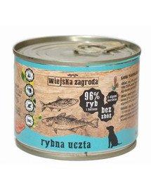 Rybna uczta 200 g bezzbożowa karma dla psa