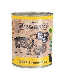 Indyk z jagnięciną 800 g bezzbożowa karma dla psa