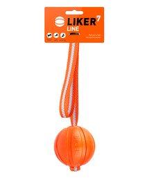 LINE Dog toy piłka na pasku z uchem dla psa 7 cm