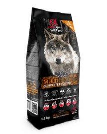 Pełnowartościowa karma sucha-miękka dla psów Multiproteina 1,5 kg