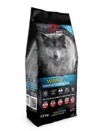 Pełnowartościowa karma sucha-miękka dla psów Wild fish 1,5 kg