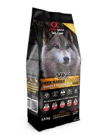 Pełnowartościowa karma sucha-miękka dla psów Poultry drób 1,5 kg