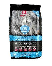 Pełnoporcjowa sucha karma dla psów Wild Fish 3 kg