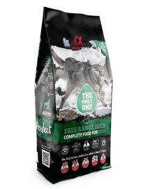 Pełnoporcjowa sucha karma dla psów Free range duck kaczka 12 kg