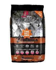 The only one 7 days formula 3 kg Pełnoporcjowa sucha karma dla psów