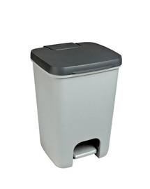 Kosz na śmieci ESSENTIALS 20L antracyt/szary