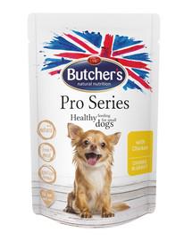 ProSeries Dog z kurczakiem kawałki w sosie 100 g