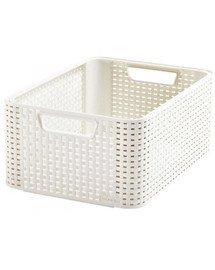 Koszyk Style M biały