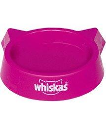 Plastikowa miska dla kota różowa