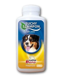 Szampon suchy pielęgnacyjny dla psów 250 ml