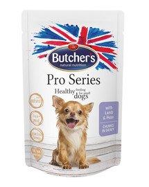 ProSeries Dog z jagnięciną i groszkiem kawałki w sosie 100 g