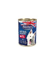 Natural&Healthy Dog z wołowiną i ryżem pasztet 390 g