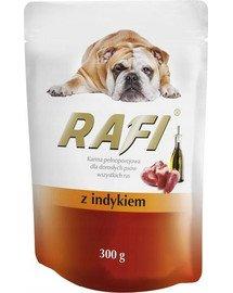 Rafi z indykiem mokra karma dla psa 300 g