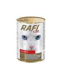 Rafi Adult Wołowina Mokra karma dla kota 415 g