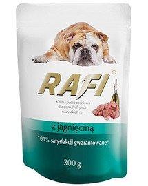 Rafi z jagnięciną mokra karma dla psa 300 g
